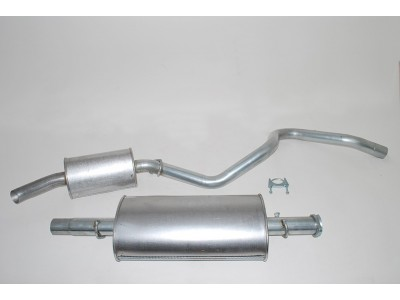 Exhaust Box & Tailpipe -...