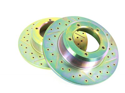 Brake Disc - Front - Cross...