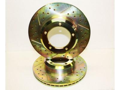 Brake Disc - Front Brakes-...
